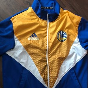 Adidas Golden State Warriors Track Jacket